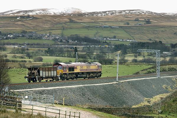 66201 Greenholme 4/3/2005 6K05 1334 Carlisle Yard-Basford Hall