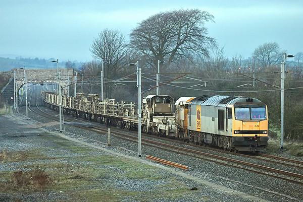 60079 Elmsfield 11/12/2007 6K05 1314 Carlisle Yard-Basford Hall