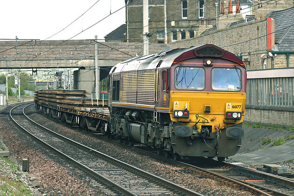 66177 Canforth 10/5/2005 6K05 1334 Carlisle Yard-Basford Hall