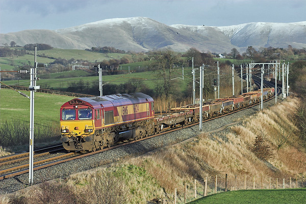 66124 Docker 24/1/2007 6K05 1322 Carlisle Yard-Basford Hall