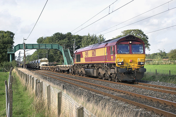 66121 Brock 19/9/2006 6K05 1328 Carlisle Yard-Basford Hall
