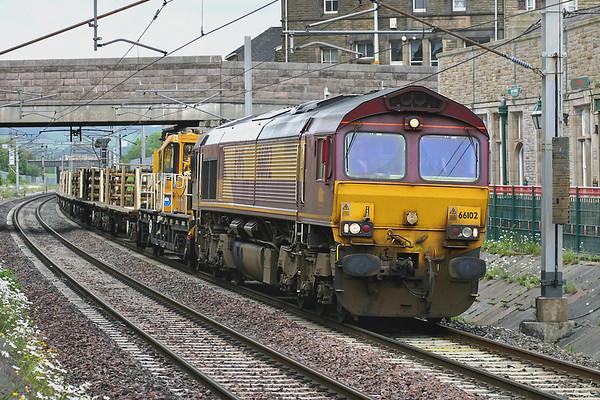 66102 Carnforth 14/6/2005 7K05 1334 Carlisle Yard-Basford Hall