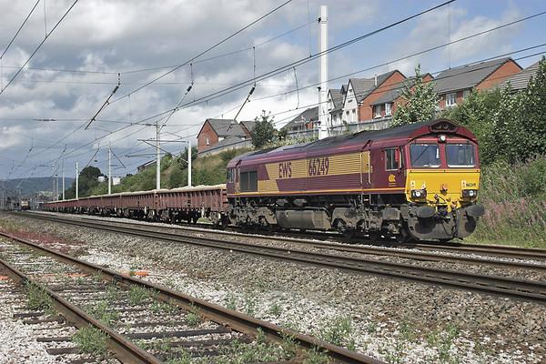 66249 Carnforth 9/8/2006 6K05 1328 Carlisle Yard-Basford Hall