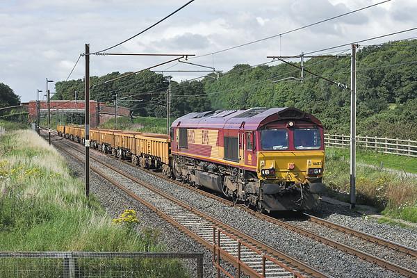 66132 Woodacre 8/8/2007 6K05 1314 Carlisle Yard-Basford Hall