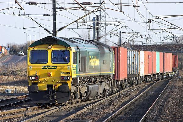 66533 Newark Northgate 6/4/2013 4E49 1344 Ipswich Yard-Scunthorpe