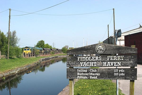 66605 Fiddlers Ferry 20/4/2009 6F02 1207 Ellesmere Port-Fiddlers Ferry PS