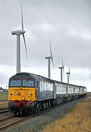 57012 and 47790, St Helens 29/1/2010 2T26 1120 Workington-Maryport