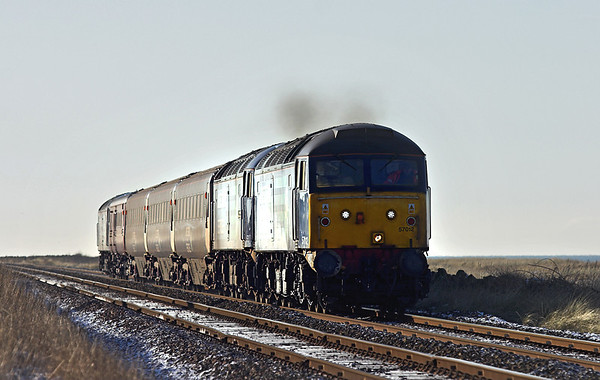 57012, 57008 and 47501, St Helens 8/1/2010 2T26 1120 Workington-Maryport