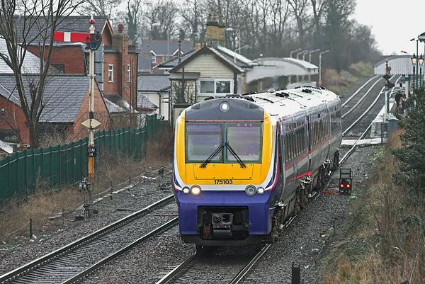 175103 Gobowen 26/1/2007 1W86 1120 Cardiff Central-Holyhead