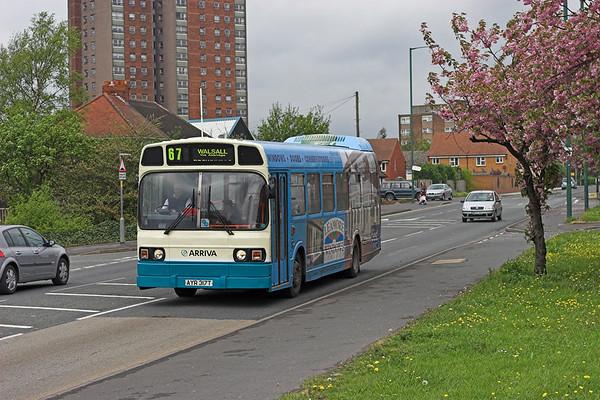 55 AYR317T, Brownhills 24/4/2007