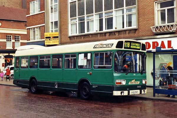 414 YYE276T, Portsmouth 29/12/1993