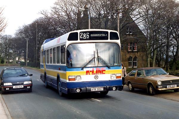 AYR305T, Upper Denby 6/3/1992
