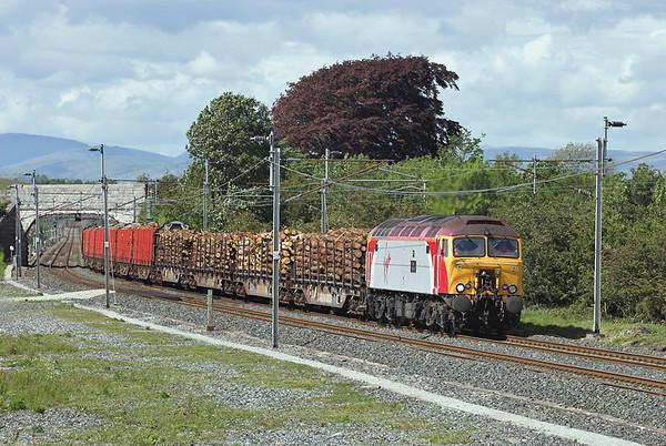 57308 Elmsfield 29/5/2007 6Z57 1329 Carlisle Yard-Chirk