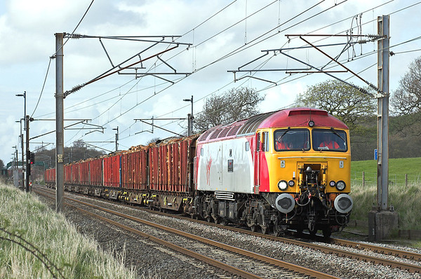57301 Woodacre 24/4/2008 6J37 1327 Carlisle Yard-Chirk