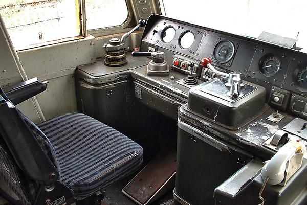 Cab of 47851, 21/9/2004