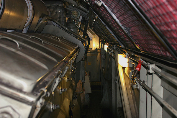 G: Engineroom, 'A' bank of engine looking towards No.2 end