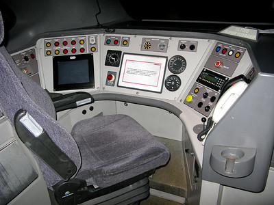 Drivers Cab of 60460 DMF (221110), 17/3/2009