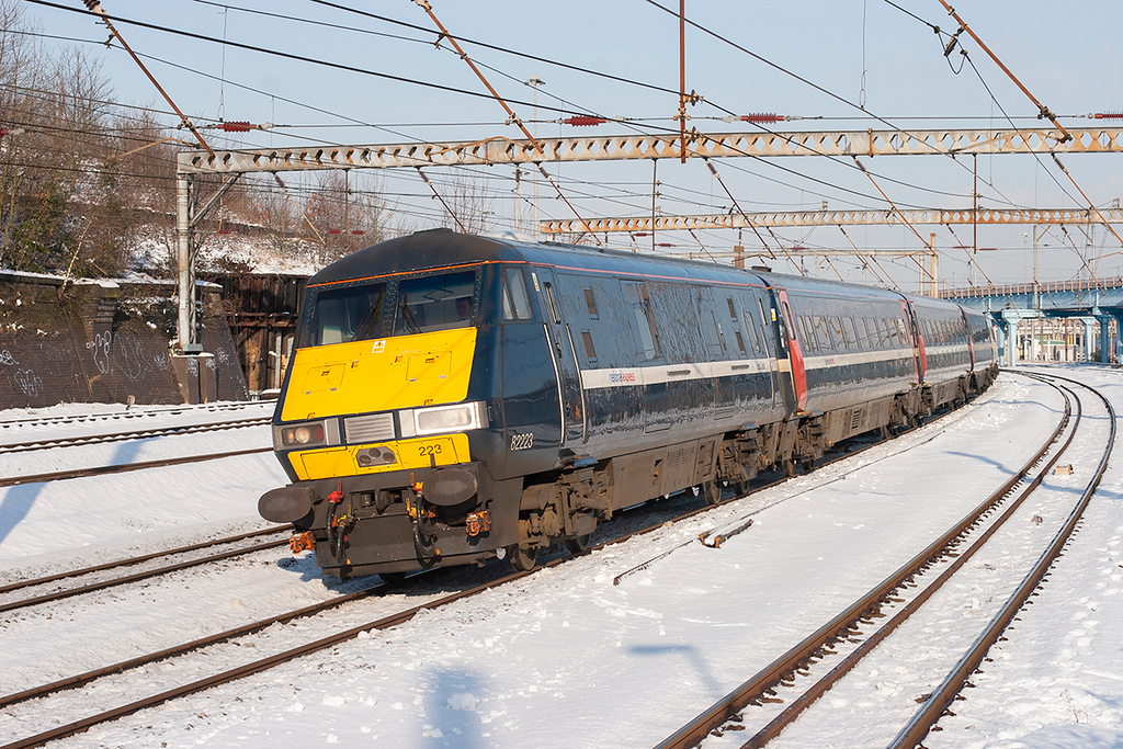 82223 Harringay 3/2/2009<br /> 1E01 0550 Edinburgh-London Kings Cross