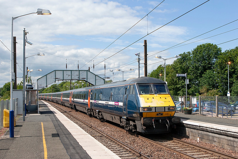 82225 Longniddry 1/7/2011<br /> 1E14 1200 Edinburgh-London Kings Cross