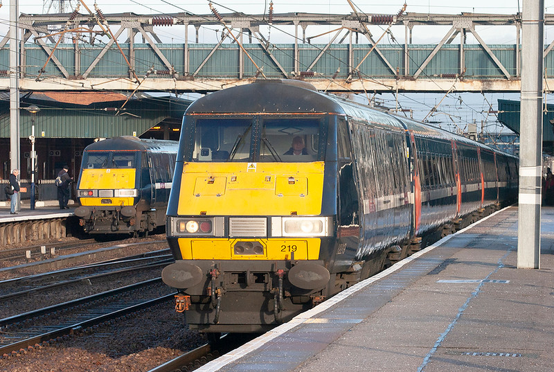 82219 and 82200 Doncaster 6/1/2011<br /> 82219: 1A20 0900 Newcastle-London Kings Cross