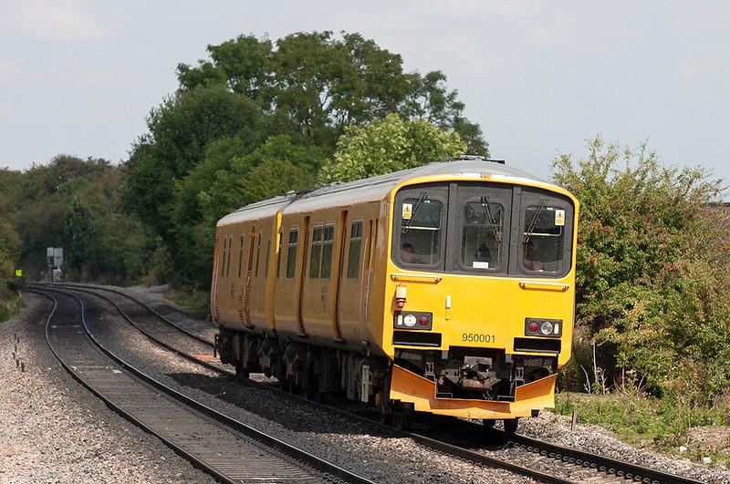 950001 Tamworth 30/8/2005<br /> 2Z08 0830 Derby RTC-Tyseley TMD