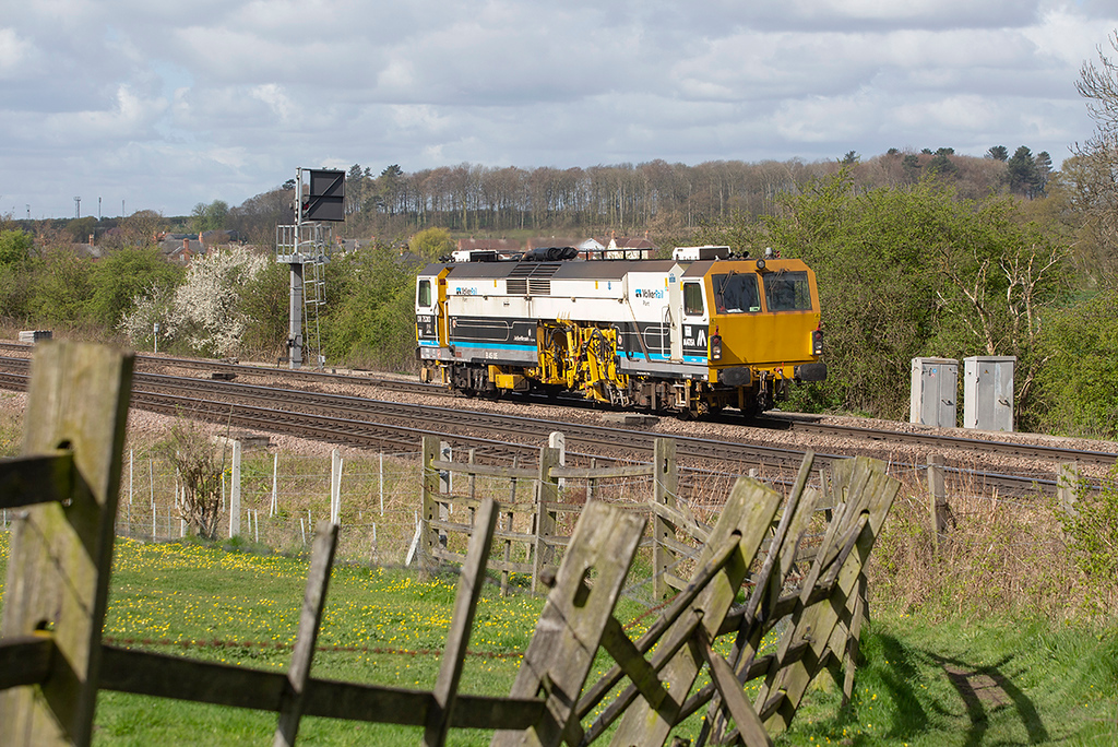 DR75303 Barnetby 14/4/2014<br /> 6J31 1000 Worksop-Scunthorpe Frodingham (via Cleethorpes)