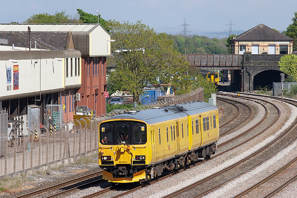 950001 Kirkham and Wesham 17/5/2010 2Q08 0911 Longsight TMD-Blackpool North (via Southport)