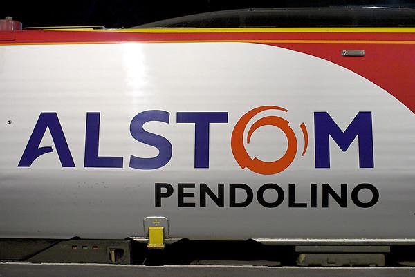 'Alstom Pendolino', Preston 15/12/2011