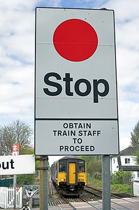 Stop Sign, Bare Lane 1/5/2010
