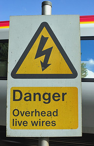 'Danger Overhead Live Wires', Brock 6/9/2007