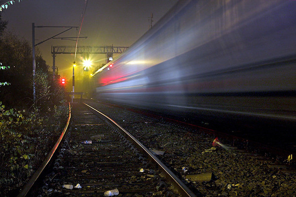 Passing Coal train, Carlisle 13/11/2007