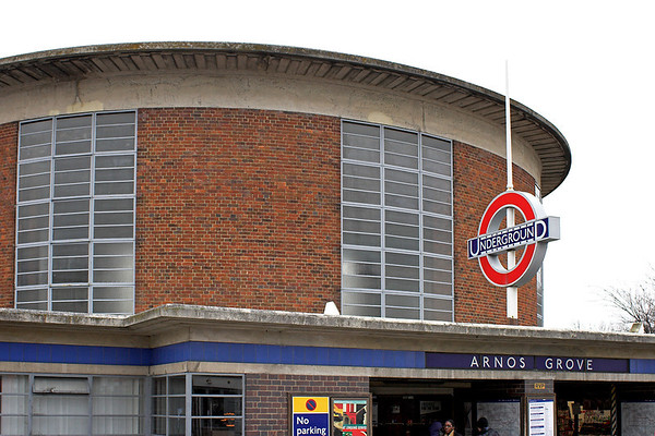 Arnos Grove (London Underground) 21/2/2013