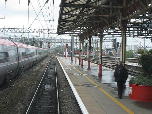 (High Speed): CREWE to LONDON EUSTON via Trent Valley and Weedon