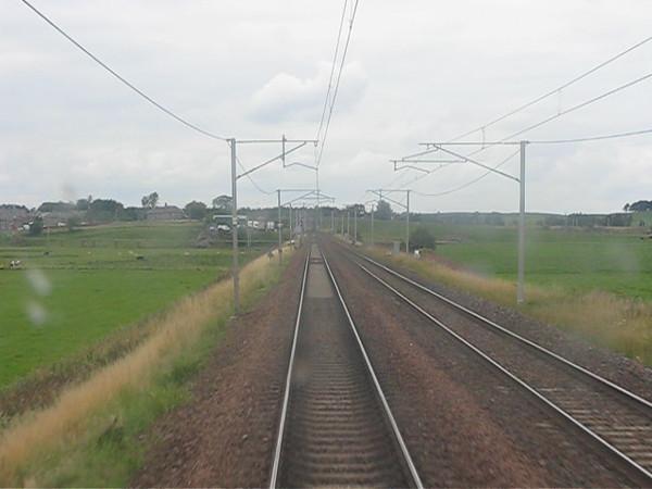 (High Speed): CARSTAIRS to EDINBURGH
