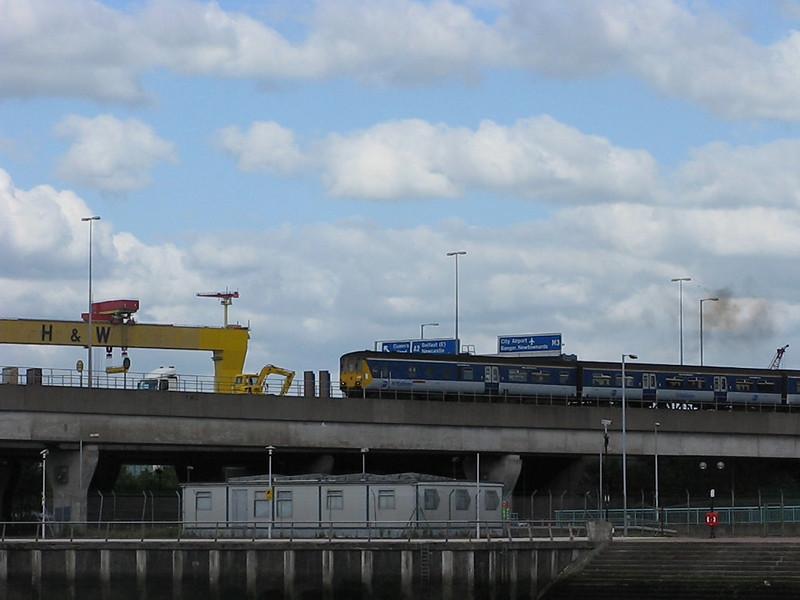 NORTHERN IRELAND: 8454 Belfast Central 16/6/2011, 1706 Great Victoria Street to Larne Harbour