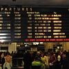 New York Penn Station – Departures Board