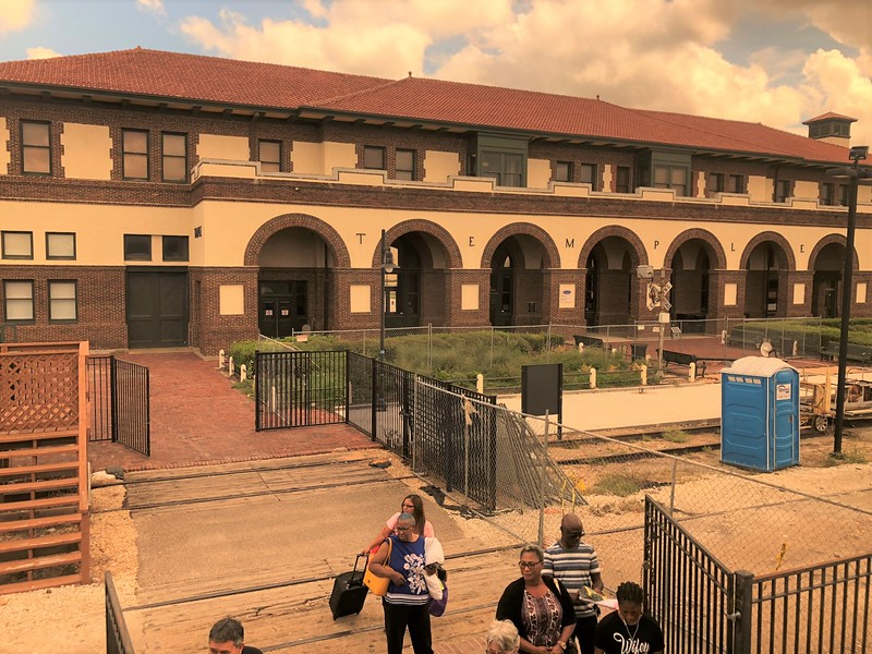 Temple Amtrak Station, Texas
