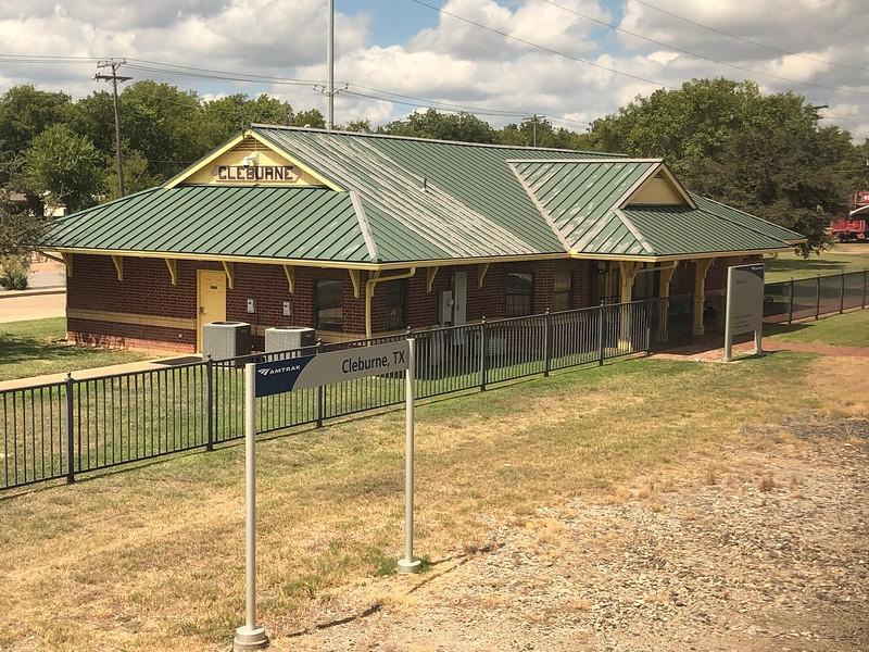 Cleburne Amtrak Station, Texas