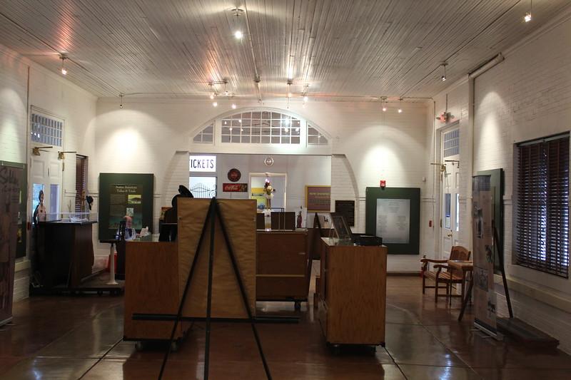 Gainesville Amtrak Station, Texas – Waiting Room