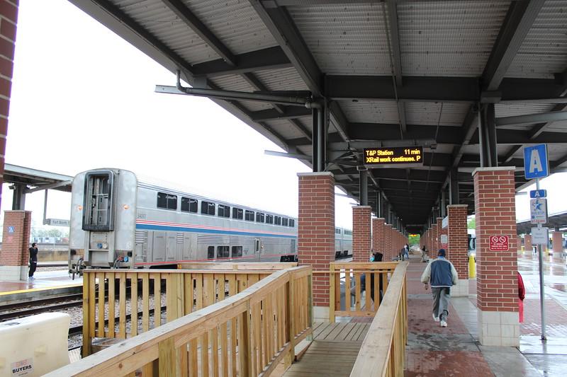 Amtrak Fort Worth Intermodal Transportation Center Station