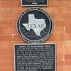 Gainesville Amtrak Station, Texas - Plaque