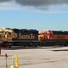 BNSF Locomotive No. 2857 (EMD GP39-2) & No. 2373 (EMD GP38-2) at Lincoln Diesel shop, Lincoln NE
