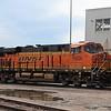 BNSF Locomotive No. 6806 (GE ES44C4) at Lincoln Diesel shop, Lincoln NE