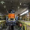 BNSF Locomotives No. 2358 (EMD GP38-2) and No. 4008 (GE C44-9W) at Lincoln Diesel shop, Lincoln NE