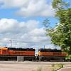 BNSF Locomotive No. 1533 (EMD GP28M) at Lincoln NE