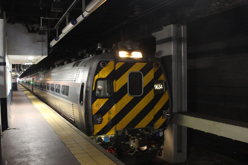 Amtrak M500 Cab Car No. 9634 at Platform 10 Philadelphia 30th Street Station
