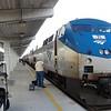 Amtrak Silver Meteor Train No. 97 terminates at Miami Station - GE P42DC Locomotive No. 71