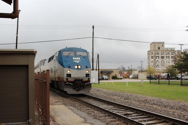 Amtrak GE P42DC Locomotive No.129 (s/n 52809)
