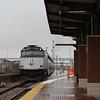 Amtrak EMD F40PH converted NPCU Cab Car No. 90222 (s/n 757099-23) at Fort Worth Interchange