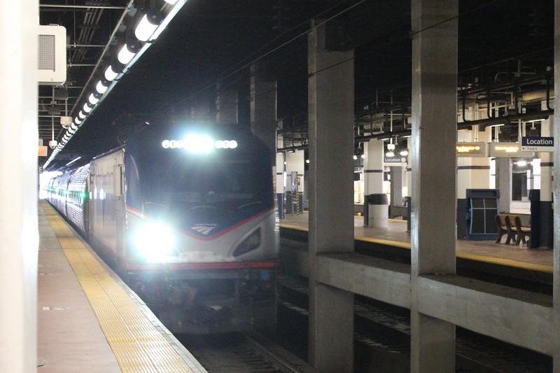 Amtrak Siemens ACS-64 No. 609 at Platform 4 Philadelphia 30th Street Station